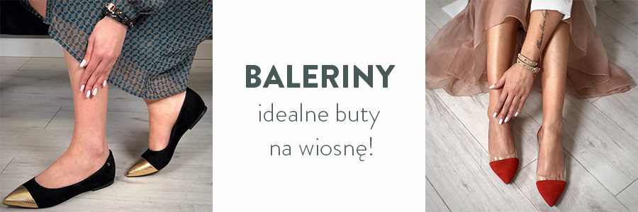 Baleriny – idealne buty na wiosnę!