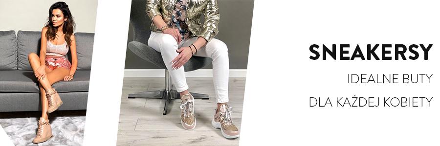 Sneakersy – idealne buty dla każdej kobiety