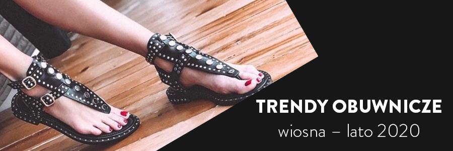 Trendy obuwnicze wiosna – lato 2020